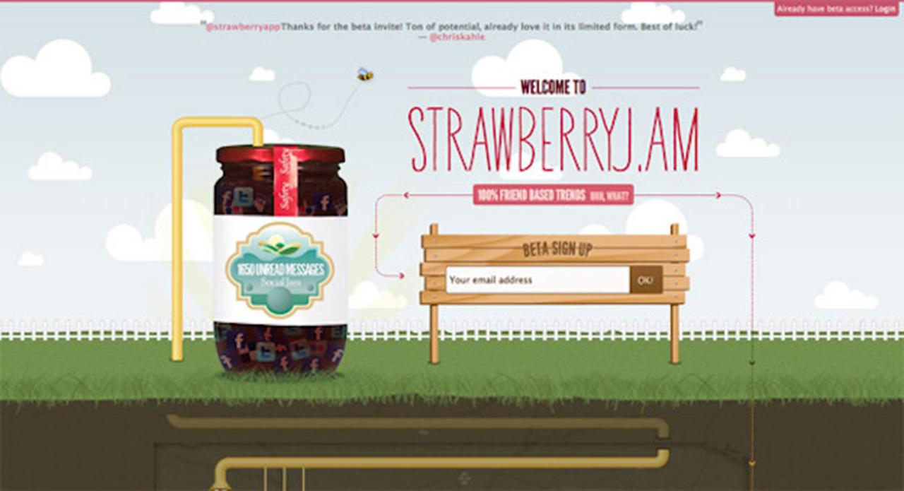Érkezési oldal: Strawberry Jam