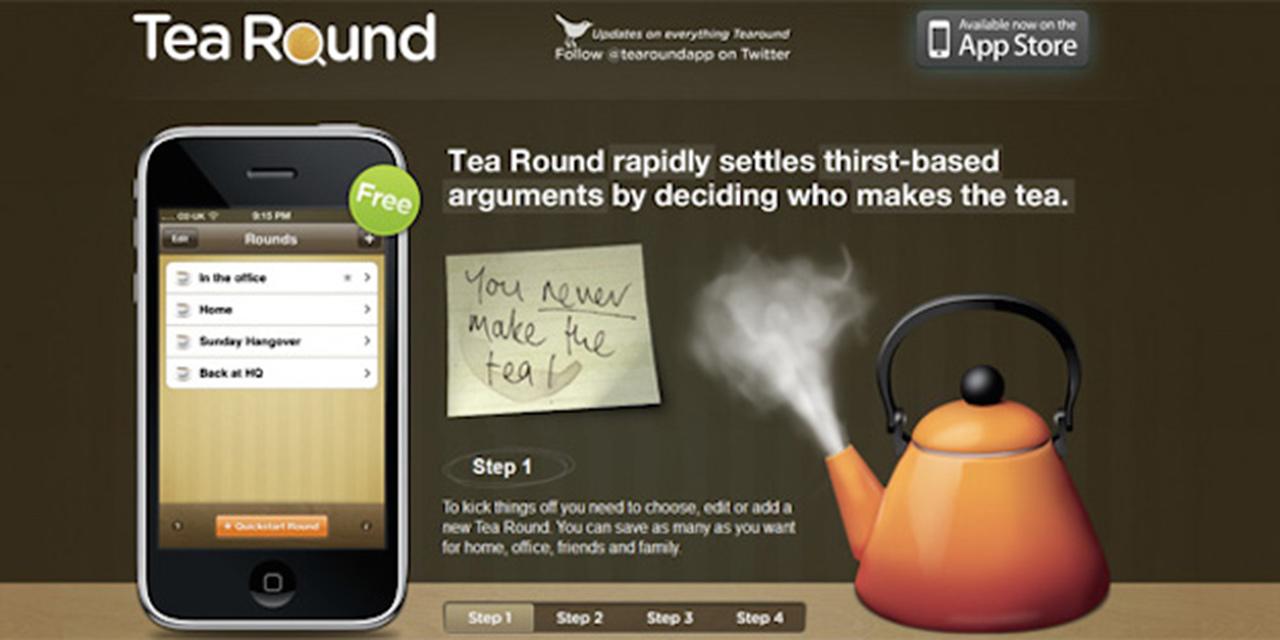 Érkezési oldal: Tea Round
