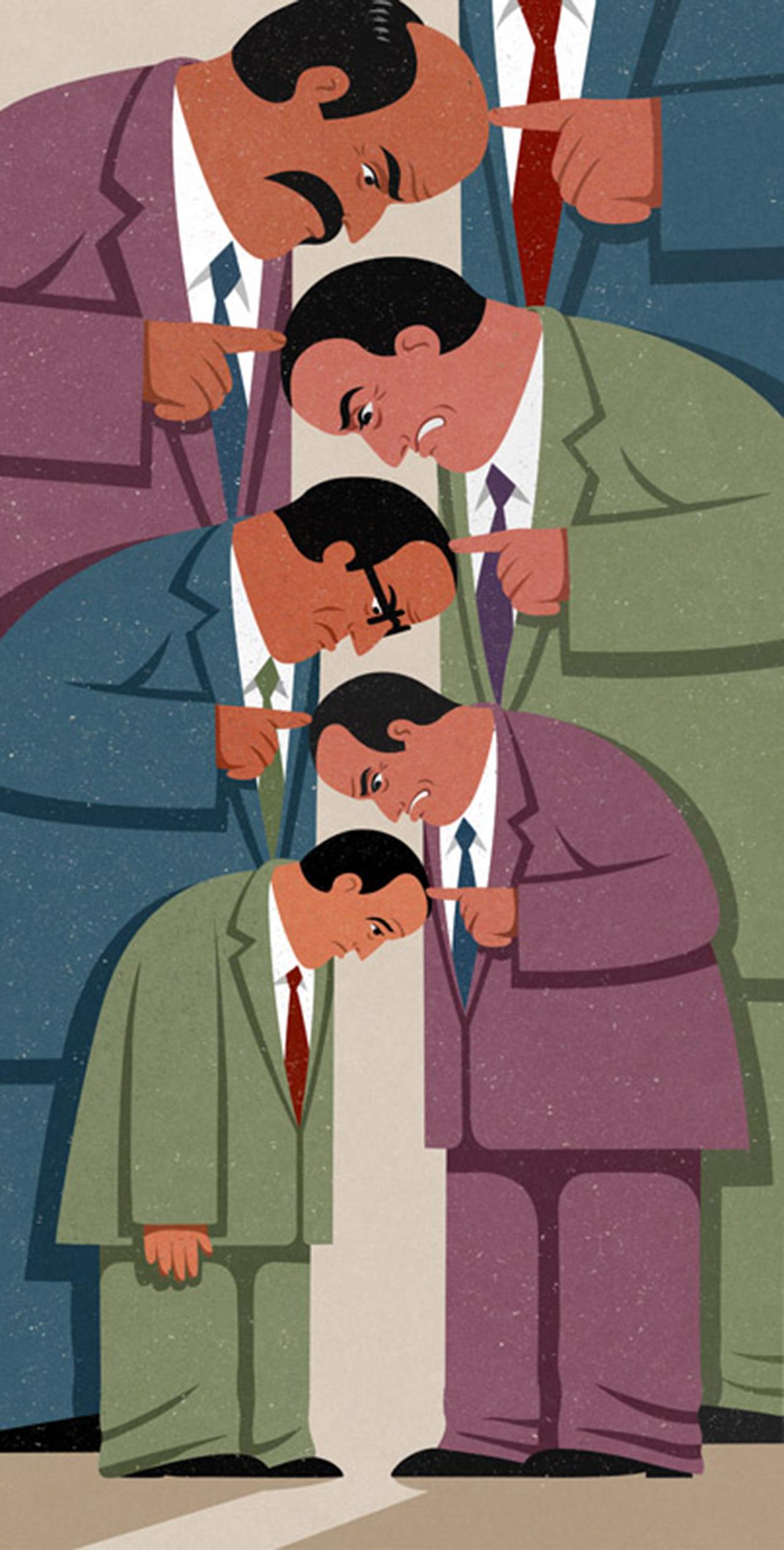 Napjaink problémáinak szatirikus ábrázolása az '50-es évek stílusával
