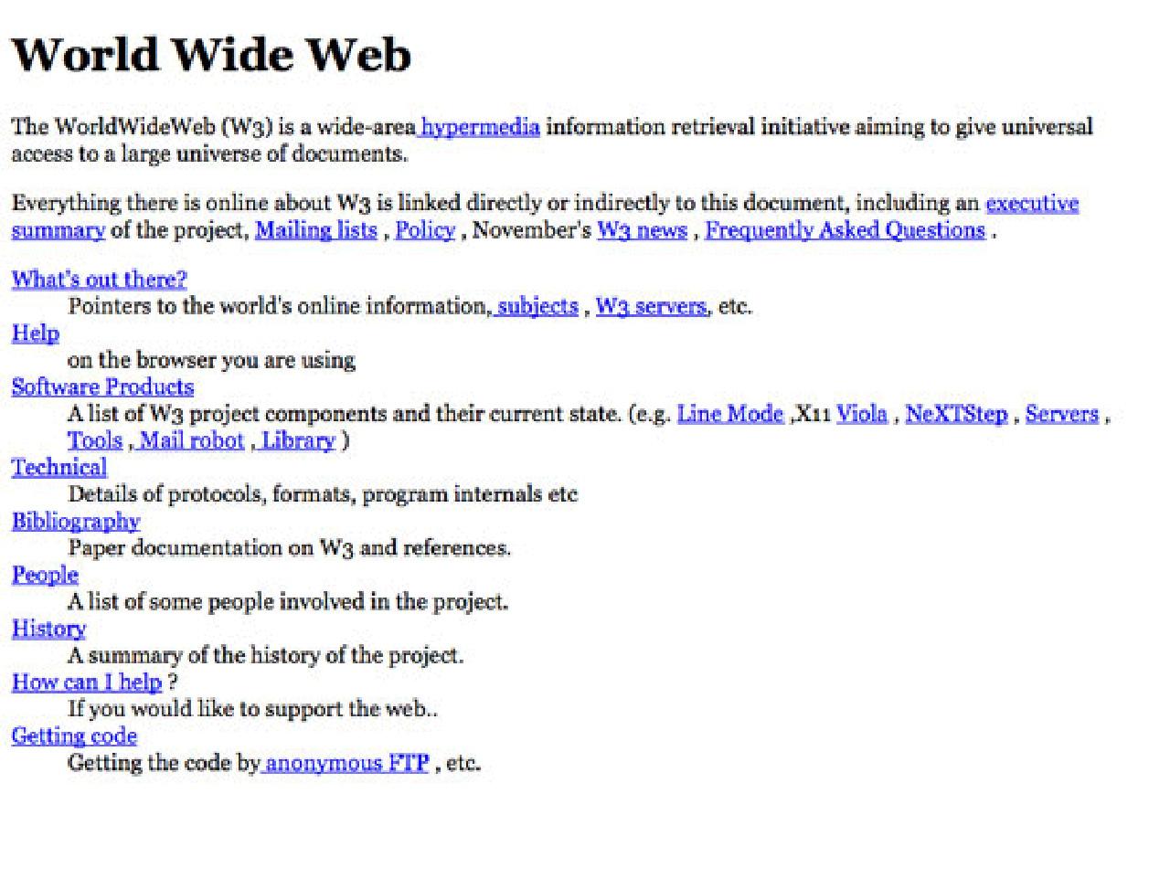 A webdesign fejlődése az őskortól napjainkig