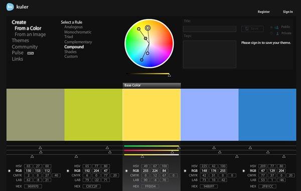 A színelmélet alapjai a webdesign szempontjából
